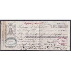 1894 CAMBIALE PESCOPAGANO