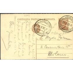 C.P. RISPOSTA annullo 1933...