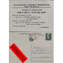 1946 C.P.  c. 60 NAPOLI per...