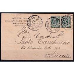 1915 MAGLIE Cerchio DOPPIE...