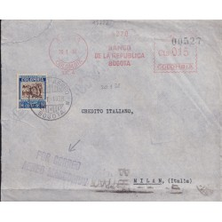 1938 COLOMBIA VIA AEREA...
