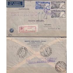 1938 VENEZUELA RESELLADO...