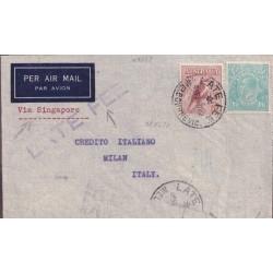 1937 AUSTRALIA AEREA x...