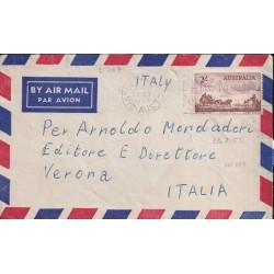 1955 AUSTRALIA AEREA x ITALIA