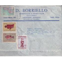 1957 MOZAMBICO AEREA x ITALIA
