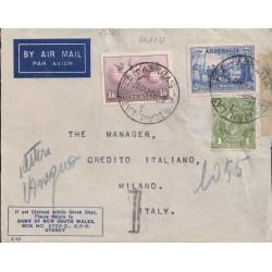 1937 AUSTRALIA AEREA x ITALIA