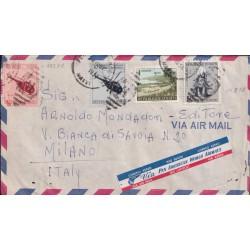1956 HAITI AEREA x ITALIA