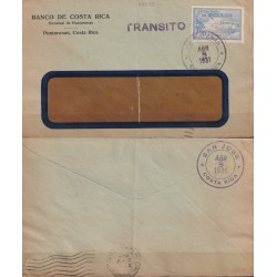 1931 COSTA RICA AEREO x ITALIA