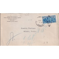 1938 PANAMA POMPIERI x ITALIA
