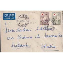 1954 FINLANDIA CROCE ROSSA...