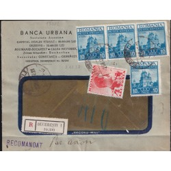 1937 ROMANIA RACC. x ITALIA