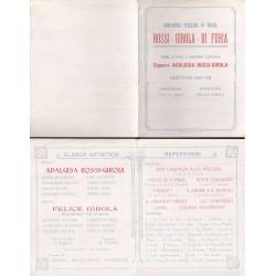 1927 LOCANDINA COMPAGNIA...