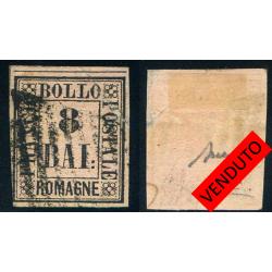 ROMAGNE 1859 b. 8 USATO –...