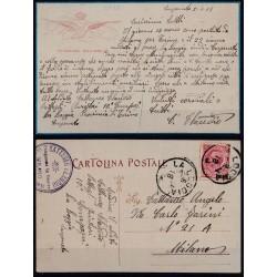 1918 CARTOLINA AVIAZIONE