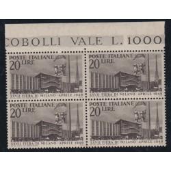 1949 MILANO FIERA L. 20...