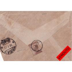 1921 DITALE busta per...