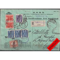 1935 - RACCOMANDATA ATTI...