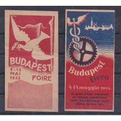 UNGHERIA  1933 / 34...