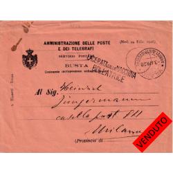 1928 lineare LACERATA dalla...