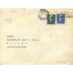 1945 Imperiale 15c. + 35c....