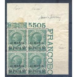 UFFICI ESTERO 1922 ALBANIA...