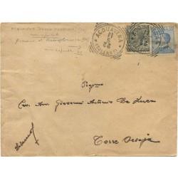 1922 ACQUAVENA (SA) annullo...
