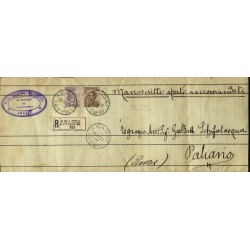 1922 MICHETTI affrancatura...