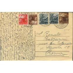 1947 C.P. da 3L. + 40c. x 2...