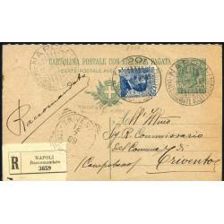 1909 C.P.D. LEONI 5c. +...