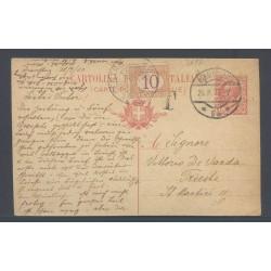 1920 C.P. annullo AUSTRIACO...