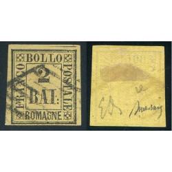 ROMAGNE 1859 baj 2 USATO...
