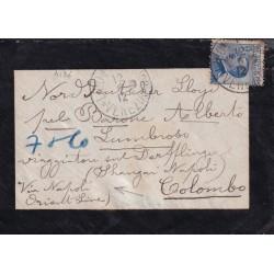 1912 MICHETTI 25c. bustina...