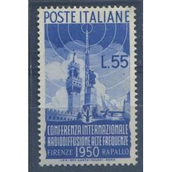 1950 RADIODIFFUSIONE 55L....