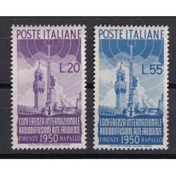 1950 RADIODIFFUSIONE serie...
