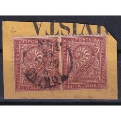 1863 DLR VEII LONDRA 2c. in...