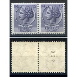 1960 SIRACUSANA 15L. per...