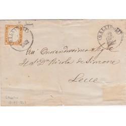 1862 10c. ISOLATO in RARO...