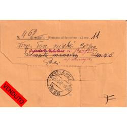 1942 TELEGRAMMA con annullo...